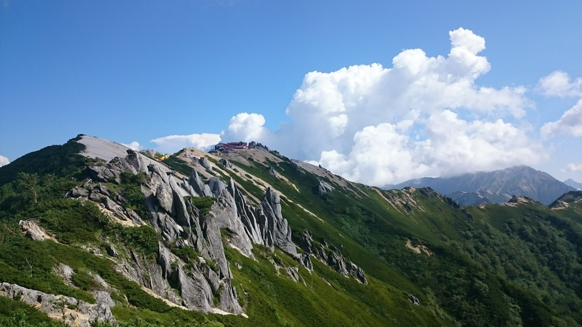 山登りが好き