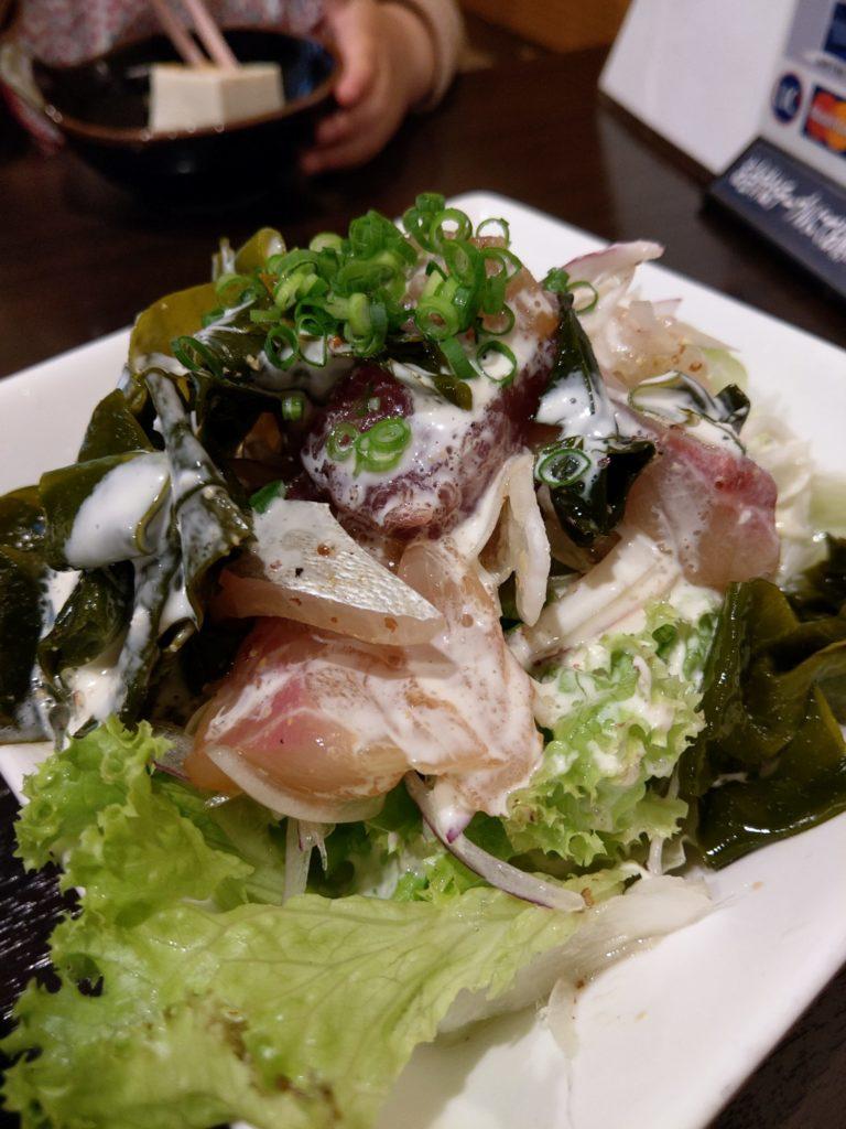 巌廻 サラダ